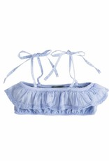 Tocoto Vintage Girl Swimwear Top Blue