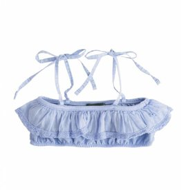 Tocoto Vintage Girl Swimwear Top Blue