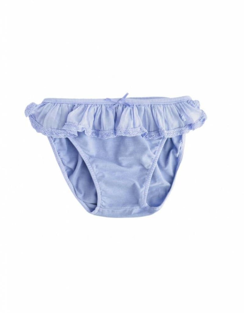Tocoto Vintage Swimwear Coulotte Blue
