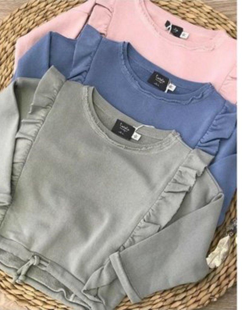Tocoto Vintage Girls sweater Blue
