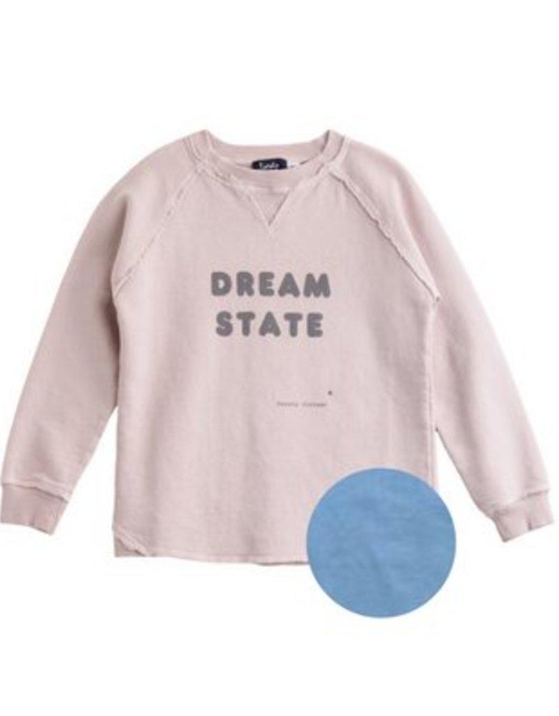"Tocoto Vintage Sweatshirt ""DREAM STATE"" Blue"