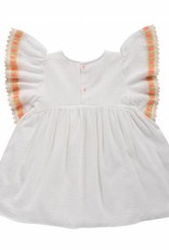 Louise Misha Dress Hindaka White