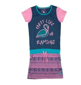 Birds Dress Flamingo