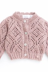 Tocoto Vintage Knitted Jacket Pink
