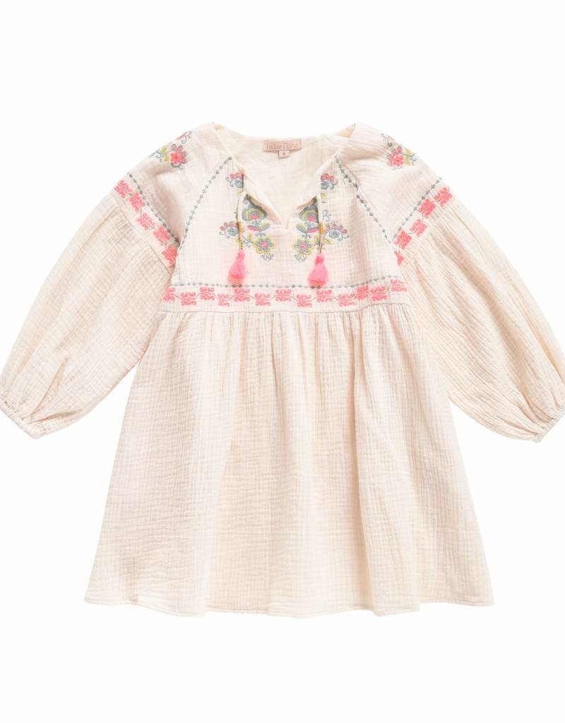 Louise Misha Dress Slovenia Cream