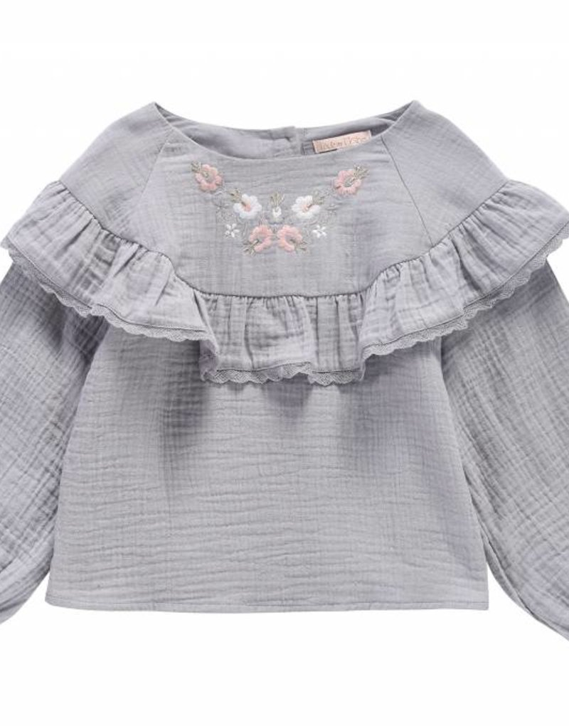 Louise Misha Top Nagyka Light grey