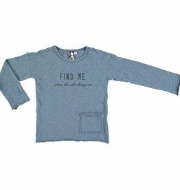 Tocoto Vintage T-SHIRT BLUE