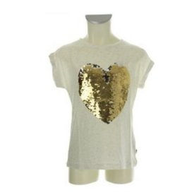 Rumbl! Royal T-shirt met pailletten
