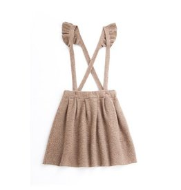 Tocoto Vintage Knitted Skirt Brown
