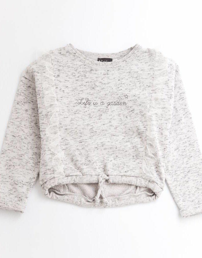 Tocoto Vintage Girl Sweatshirt Tulle