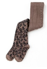 Tocoto Vintage Animal Print Woolen Tights