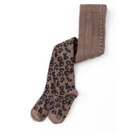 Tocoto Vintage Animal Print Woolen Tights