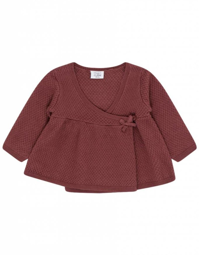 Hust & Claire Cardigan Red Rouge