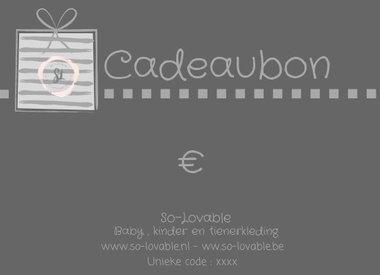 Cadeaubon