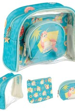 toilet bag unicorn 3 pieces