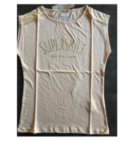 Lemon Beret T-shirt  pink