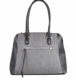 Giuliano Handbag Black /Grey