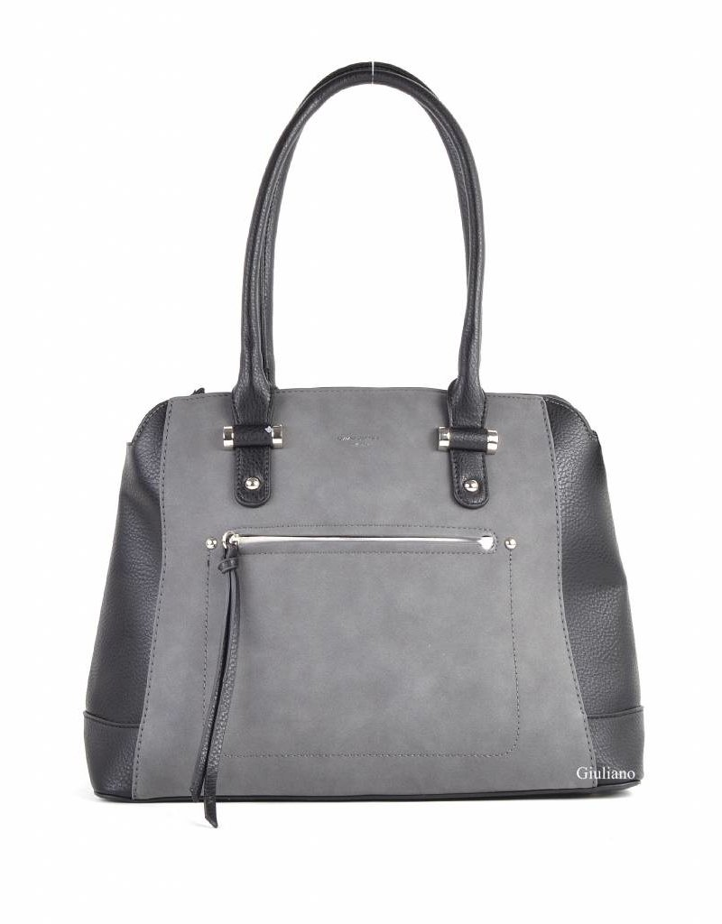 Giuliano Handbag Black/Grey