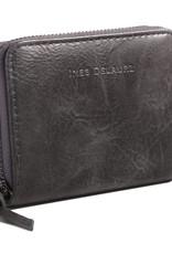 Ines Delaure Wallet Grey