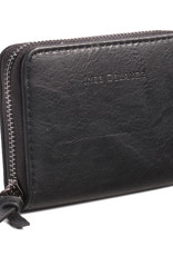 Ines Delaure Wallet Black