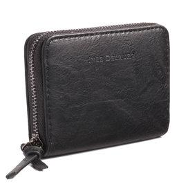 Ines Delaure Wallet Black