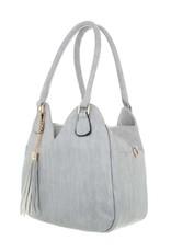 Shoulder bag light gray
