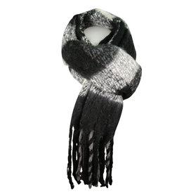 Sjaal Black/white
