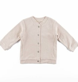 Phil & Phae Phil & Phae Sweat Cardigan Roxi Oatmeal