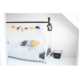 Kinderbed: Tipi 2.0