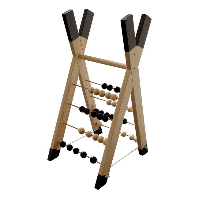Wooden Toy – Abacus – Tipi
