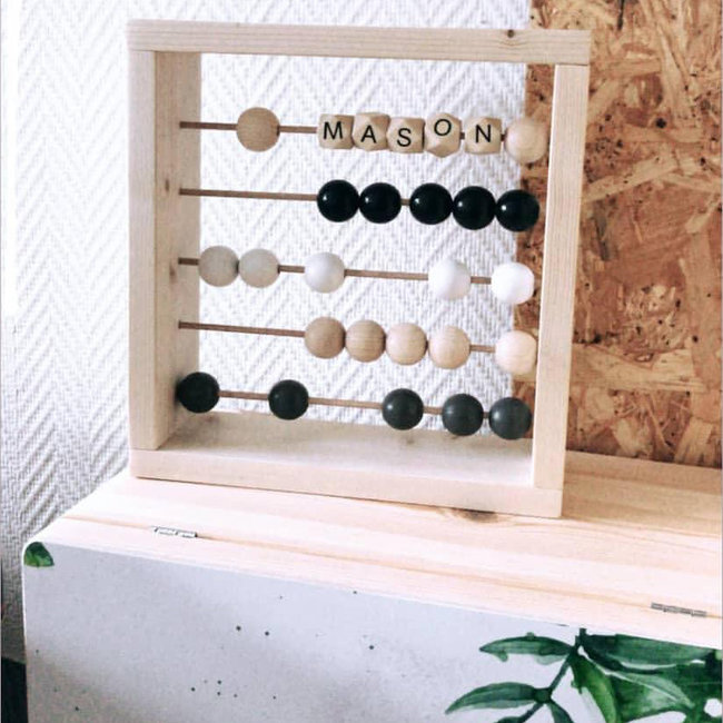 Wooden Toy – Abacus – Cube
