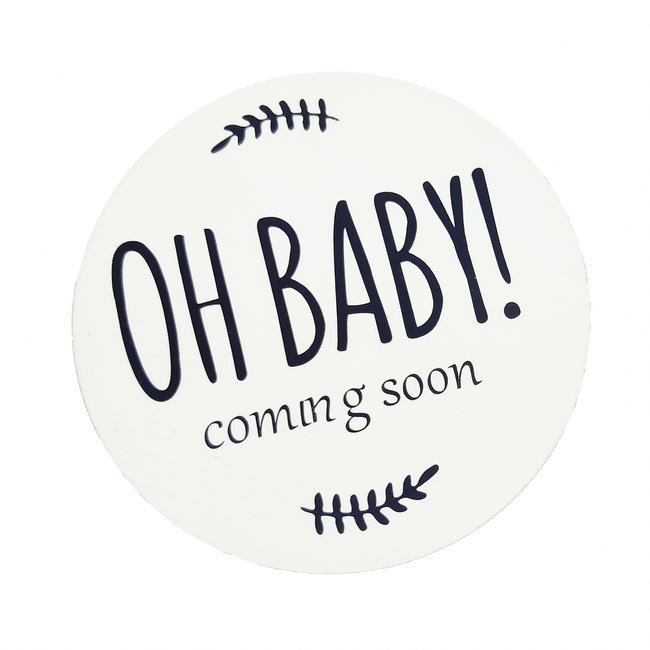Pregnancy accouncement - oh baby