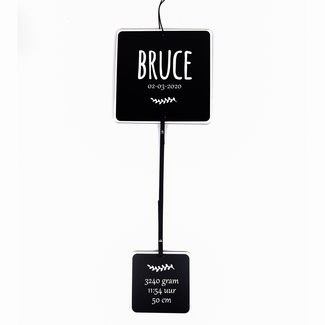 Birth Photo holder HV - cube