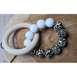 Teething Ring – White tiger