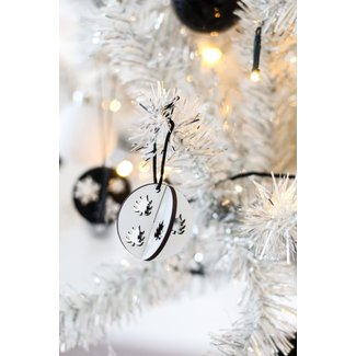 Christmas balls Set - White