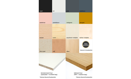 Materials & Colours