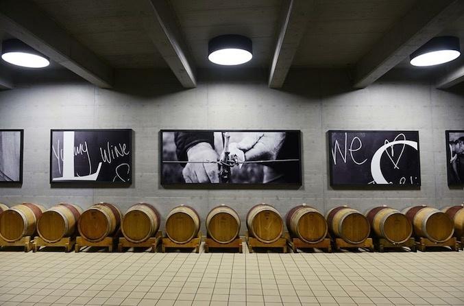 Kozlovic wine cellar