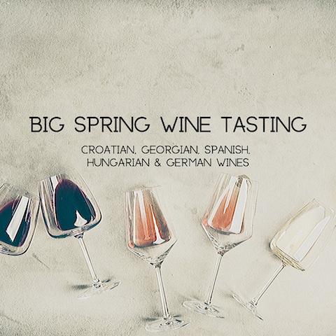 Big Spring Wine Tasting