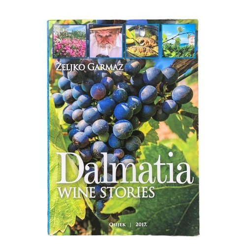 Željko Garmaz Boek Dalmatia Wine Stories