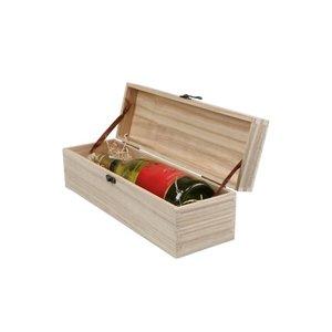 Thetasteofcroatia.com Houten wijnkist 1 fles
