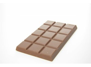 SJOKOLAT A bar of milk chocolate