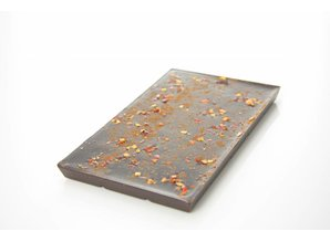 SJOKOLAT Tablet pure chocolade met chilipeper