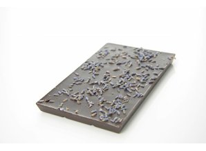 SJOKOLAT Tablet pure chocolade met lavendel