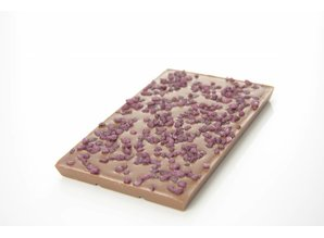 SJOKOLAT Tablet melkchocolade met cuberdon crunch