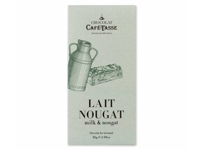 Café-Tasse Tablet Melk Chocolade met Belgische Nougat