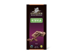Cavalier Stevia Tablet Milk Chocolate