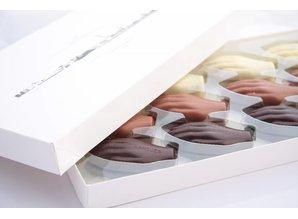 Antwerpse Handjes Chocolade - Gevuld - Grote doos