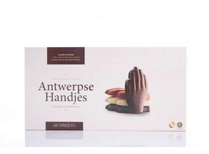 Antwerpse Handjes Chocolade - Zonder vulling - Grote doos