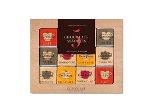 """Café-Tasse Coffee Set """"5 Flavours"""" 36 Neapolitans"""