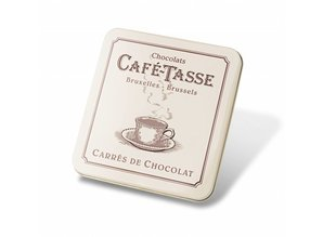 Café-Tasse Luxe Doosje met Chocolade Tabletjes